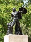 Δούκας του μνημείου του Ουέλλινγκτον στο Χάιντ Παρκ Λονδίνο Στοκ εικόνες με δικαίωμα ελεύθερης χρήσης