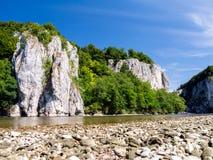 Δούναβης κοντά σε Weltenburg Στοκ εικόνα με δικαίωμα ελεύθερης χρήσης