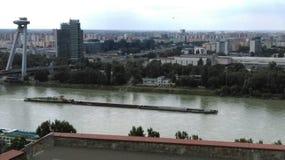Δούναβης Μπρατισλάβα Στοκ Εικόνες