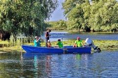 Δούναβης του δέλτα Ρουμανία Στοκ Φωτογραφίες