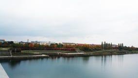 Δούναβης Donau Βιέννη Αυστρία Στοκ Εικόνες