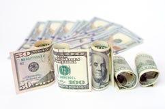 Δολάρια χρημάτων Στοκ Φωτογραφία