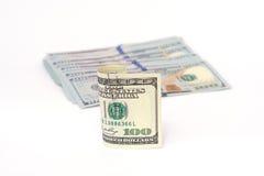 Δολάρια χρημάτων Στοκ Φωτογραφίες