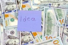 Δολάρια χρημάτων Στοκ εικόνα με δικαίωμα ελεύθερης χρήσης