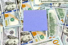 Δολάρια χρημάτων Στοκ εικόνες με δικαίωμα ελεύθερης χρήσης