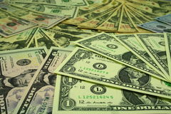 Δολάρια στοκ φωτογραφίες με δικαίωμα ελεύθερης χρήσης