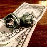 Δολάρια Στοκ εικόνα με δικαίωμα ελεύθερης χρήσης