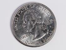 Δολάριο αμερικανικών τετάρτων Στοκ φωτογραφία με δικαίωμα ελεύθερης χρήσης