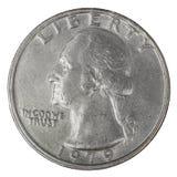 Δολάριο τετάρτων Στοκ Φωτογραφία