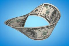 Δολάριο Moebius Στοκ εικόνα με δικαίωμα ελεύθερης χρήσης