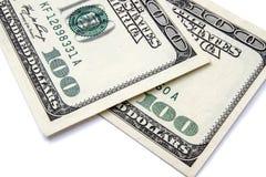 100 Δολ ΗΠΑ Στοκ Εικόνα