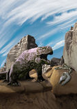 Δράκος βράχου Στοκ φωτογραφία με δικαίωμα ελεύθερης χρήσης