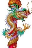 Δράκος κινέζικα στην Ταϊλάνδη Στοκ Εικόνες