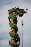 Δράκος στον κινεζικό ναό Στοκ εικόνες με δικαίωμα ελεύθερης χρήσης