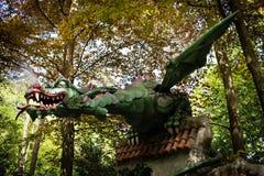 Δράκος στο θεματικό πάρκο de Efteling Στοκ Φωτογραφίες