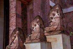 Δράκος στο ναό στοκ φωτογραφίες με δικαίωμα ελεύθερης χρήσης