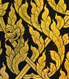 δράκος Ταϊλανδός τέχνης Στοκ Εικόνα