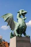 Δράκος του Λουμπλιάνα Στοκ Εικόνες
