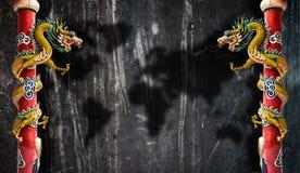 Δράκος Στοκ εικόνα με δικαίωμα ελεύθερης χρήσης