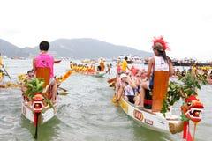 δράκος Hong INT kong λ πρωταθλήματος βαρκών του 2012 Στοκ Εικόνες