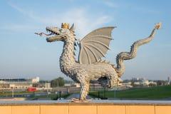 Δράκος Zilant Kazan πόλη, Ρωσία στοκ φωτογραφία