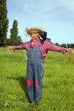 δράση ως σκιάχτρο αγροτών Στοκ Εικόνες