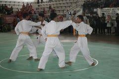 Δράση Silat Pencak Στοκ φωτογραφία με δικαίωμα ελεύθερης χρήσης