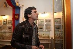 Δράστης και τραγουδιστής Antonio Banderas Στοκ Εικόνα