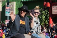 Δράστης Shelton Dave, διευθυντής και ηθοποιός Laci Kay στο 115ο Α Στοκ Φωτογραφίες