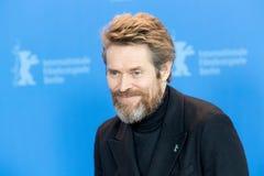 Δράστης Willem Dafoe σε Berlinale 2018 Στοκ φωτογραφία με δικαίωμα ελεύθερης χρήσης