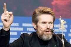Δράστης Willem Dafoe σε Berlinale 2018 Στοκ εικόνα με δικαίωμα ελεύθερης χρήσης