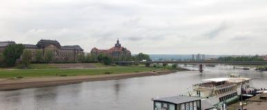 Δρέσδη Γερμανία Είδη της πόλης κέντρο ιστορικό Στοκ εικόνα με δικαίωμα ελεύθερης χρήσης