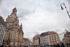 Δρέσδη Γερμανία Είδη της πόλης κέντρο ιστορικό στοκ εικόνες