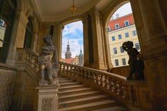 Δρέσδη Zwinger archs στη Σαξωνία Γερμανία Στοκ Φωτογραφία