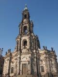 Δρέσδη Hofkirche Στοκ φωτογραφία με δικαίωμα ελεύθερης χρήσης