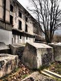 Δραματική άποψη του προηγούμενου ναζιστικού κτηρίου συνεδρίων κόμματος στοκ φωτογραφίες