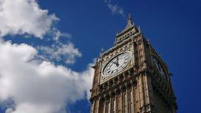 Δραματική γωνία Big Ben απόθεμα βίντεο