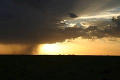 δραματική θύελλα ουραν&omic Στοκ Εικόνα