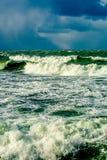 Δραματική θύελλα Στοκ εικόνα με δικαίωμα ελεύθερης χρήσης