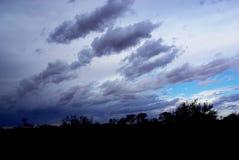 Δραματική παρασκευή θύελλας ερήμων Στοκ Φωτογραφία