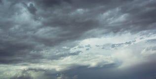 Δραματική παρασκευή θύελλας ερήμων Στοκ εικόνα με δικαίωμα ελεύθερης χρήσης