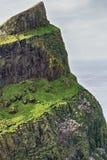 Δραματικός απότομος βράχος με την αποικία πουλιών Στοκ εικόνα με δικαίωμα ελεύθερης χρήσης