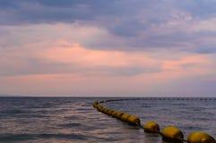 Δραματικός ζωηρόχρωμος ουρανός ηλιοβασιλέματος και ανατολής Στοκ εικόνα με δικαίωμα ελεύθερης χρήσης