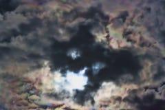 Δραματικός ουρανός τη νύχτα στοκ εικόνες