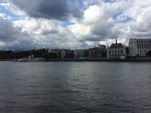 Δραματικός ουρανός του Λονδίνου Στοκ Φωτογραφία