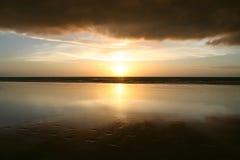 δραματικό ηλιοβασίλεμα σύννεφων Στοκ φωτογραφία με δικαίωμα ελεύθερης χρήσης