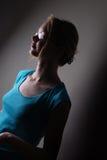 δραματικό πορτρέτο Στοκ φωτογραφία με δικαίωμα ελεύθερης χρήσης