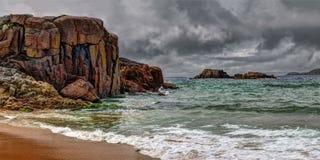 Δραματικό τοπίο νησιών Cruit Στοκ Φωτογραφίες
