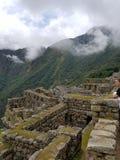Δραματικό Machu Picchu στα σύννεφα στοκ φωτογραφία με δικαίωμα ελεύθερης χρήσης