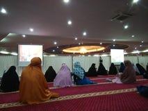 Δραστηριότητα μουσουλμανικών τεμενών Στοκ Εικόνα